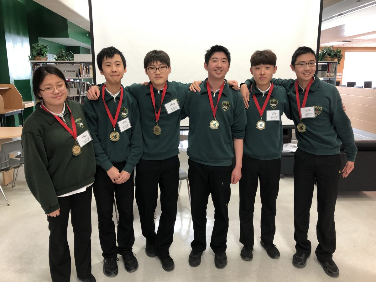 York Catholic Mathematics Team Competition on April 11