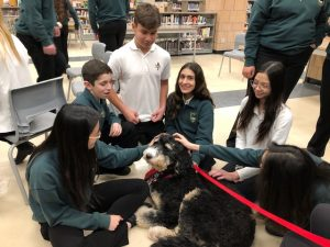 St. John Ambulance Therapy Dog Visit on January 14, 2020