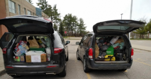 STL Food Drive to the Richmond Hill Food Bank during Covid-19