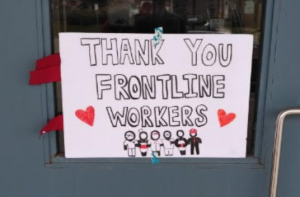 Thank you Front Line Workers!
