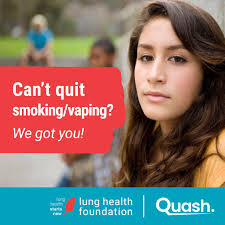 Quash:  An interactive online smoking/vaping cessation program for youth